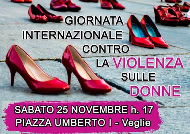 il 25 novembre scarpette rosse in piazza umberto i a veglie per la giornata internazionale contro la violenza sulle donne veglienews veglie nel mondo il 25 novembre scarpette rosse in
