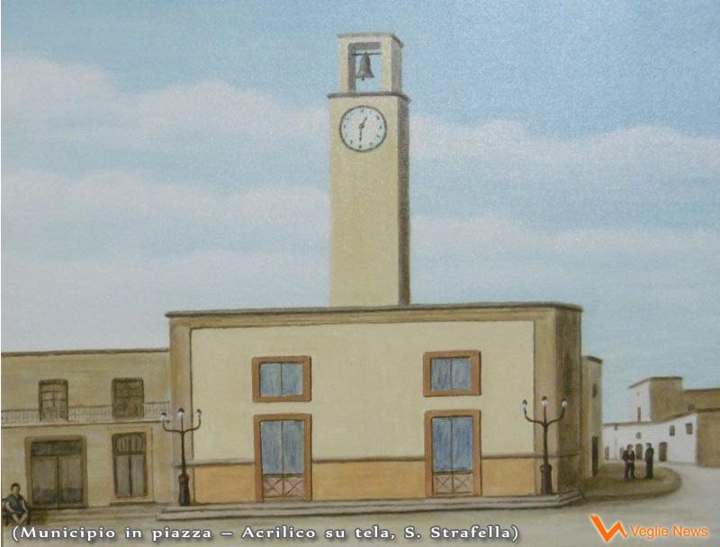 Municipio di Veglie in Piazza, quadro di S. Strafella