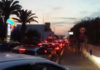 Traffico a Torre Lapillo. 12 agosto 2018 (ph. Danilo Ingrosso)