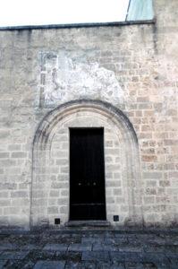 Antico ingresso della chiesa di S. Maria di Veglie.