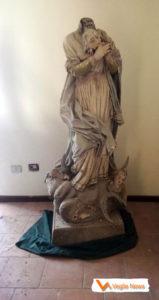 Statua Immacolata, 2018